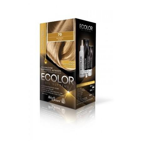 Набор для окрашивания в домашних условиях Ecolor Oil Supreme Helen Seward 61 Пепельный тёмно-русый Объем 160 мл (ecolor-61)