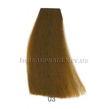 Крем-краска для волос Lumia Helen Seward Объем 100 мл 03 Золотистый корректор (Lumia 03)