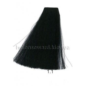 Крем-краска для волос Lumia Helen Seward Объем 100 мл 1.1 Сине-чёрный (Lumia 1.1)