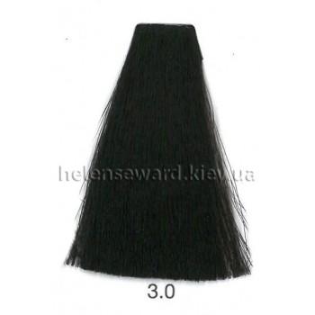 Крем-краска для волос Lumia Helen Seward Объем 100 мл 3.0 Натуральный темный коричневый (Lumia 3.0)