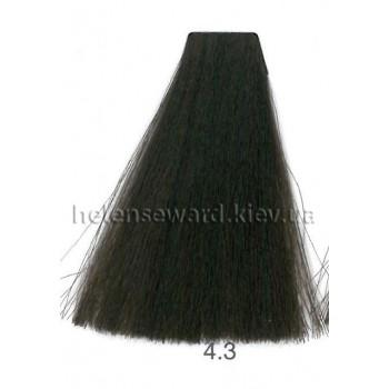 Крем-краска для волос Lumia Helen Seward Объем 100 мл 4.3 Золотой коричневый (Lumia 4.3)