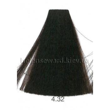 Крем-краска для волос Lumia Helen Seward Объем 100 мл 4.32 Золотой бежевый коричневый (Lumia 4.32)