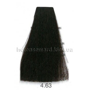 Крем-краска для волос Lumia Helen Seward Объем 100 мл 4.63 Махагон золотой коричневый (Lumia 4.63)