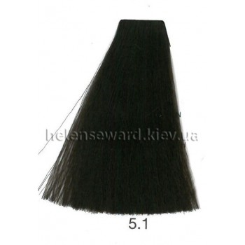Крем-краска для волос Lumia Helen Seward Объем 100 мл 5.1 Светлый пепельный каштан (Lumia 5.1)