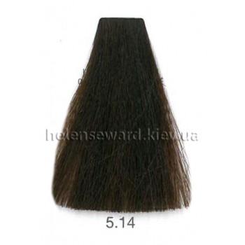 Крем-краска для волос Lumia Helen Seward Объем 100 мл 5.14 Светлый пепельно медный каштан (Lumia 5.14)