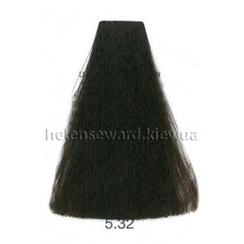Крем-краска для волос Lumia Helen Seward Объем 100 мл 5.32 Светлый золотисто-бежевый коричневый (Lumia 5.32)