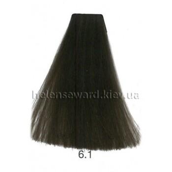 Крем-краска для волос Lumia Helen Seward Объем 100 мл 6.1 Тёмный пепельный блондин (Lumia 6.1)