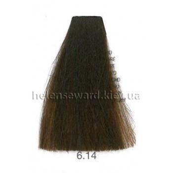Крем-краска для волос Lumia Helen Seward Объем 100 мл 6.14 Тёмный пепельно-медный блондин (Lumia 6.14)