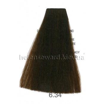 Крем-краска для волос Lumia Helen Seward Объем 100 мл 6.34 Тёмный золотой медный блондин (Lumia 6.34)
