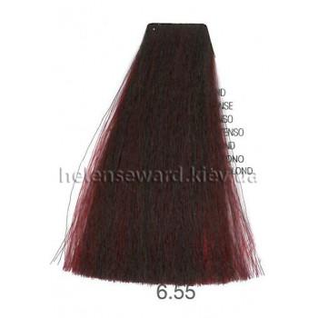 Крем-краска для волос Lumia Helen Seward Объем 100 мл 6.55 Темный интенсивный красный блондин (Lumia 6.55)