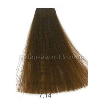 Крем-краска для волос Lumia Helen Seward Объем 100 мл 7.14 Пепельно-медный блондин (Lumia 7.14)