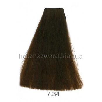 Крем-краска для волос Lumia Helen Seward Объем 100 мл 7.34 Золотой медный блондин (Lumia 7.34)