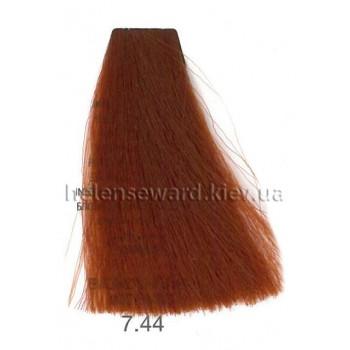 Крем-краска для волос Lumia Helen Seward Объем 100 мл 7.44 Блонд медный интенсивный (Lumia 7.44)