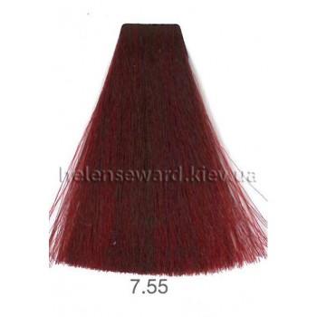 Крем-краска для волос Lumia Helen Seward Объем 100 мл 7.55 Интенсивный красный блондин (Lumia 7.55)