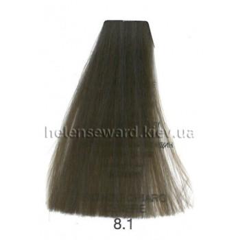Крем-краска для волос Lumia Helen Seward Объем 100 мл 8.1 Светлый пепельный блондин (Lumia 8.1)