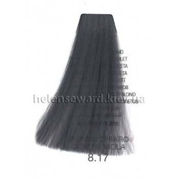 Крем-краска для волос Lumia Helen Seward Объем 100 мл 8.17 Светлый блонд пепельный фиолетовый (Lumia 8.17)