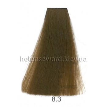 Крем-краска для волос Lumia Helen Seward Объем 100 мл 8.3 Светлый золотой блондин (Lumia 8.3)