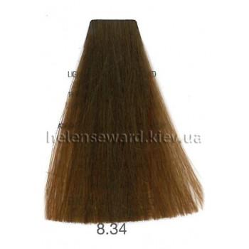 Крем-краска для волос Lumia Helen Seward Объем 100 мл 8.34 Светлый золотой медный блондин (Lumia 8.34)