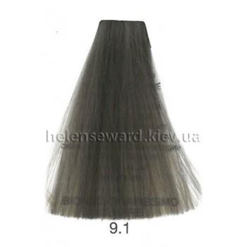 Крем-краска для волос Lumia Helen Seward Объем 100 мл 9.1 Очень светлый пепельный блондин (Lumia 9.1)