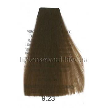 Крем-краска для волос Lumia Helen Seward Объем 100 мл 9.23 Очень светлый золотисто-бежевый блондин (Lumia 9.23)