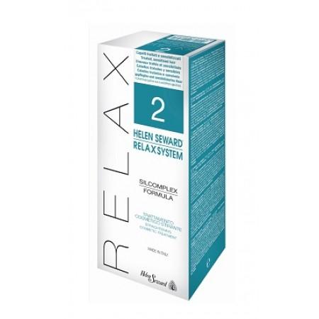 Средство для выпрямления окрашенных и ослабленных волос Relax System 2 - набор