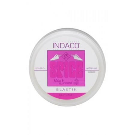 Волокнистая мастика средней фиксации с шелковисто-матовым эффектом - ELASTIK SILKY MATT MEDIUM HOLD INDACO Объем 75 мл