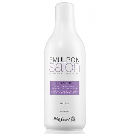 Шампунь с маслом черной смородины для волос после химических процедур Emulpon - Объем 1000 мл