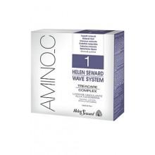 Деликатный лосьон для завивки натуральных волос Helen Seward Amino C 1 Wave System Объем 3x100 мл (494)